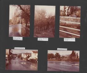 Les inondations de janvier 1978 dans le Var, archives de www.sigvar.org