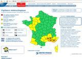 Site de Météo France : http://france.meteofrance.com/vigilance/Bulletin?ZONE=DEPT83